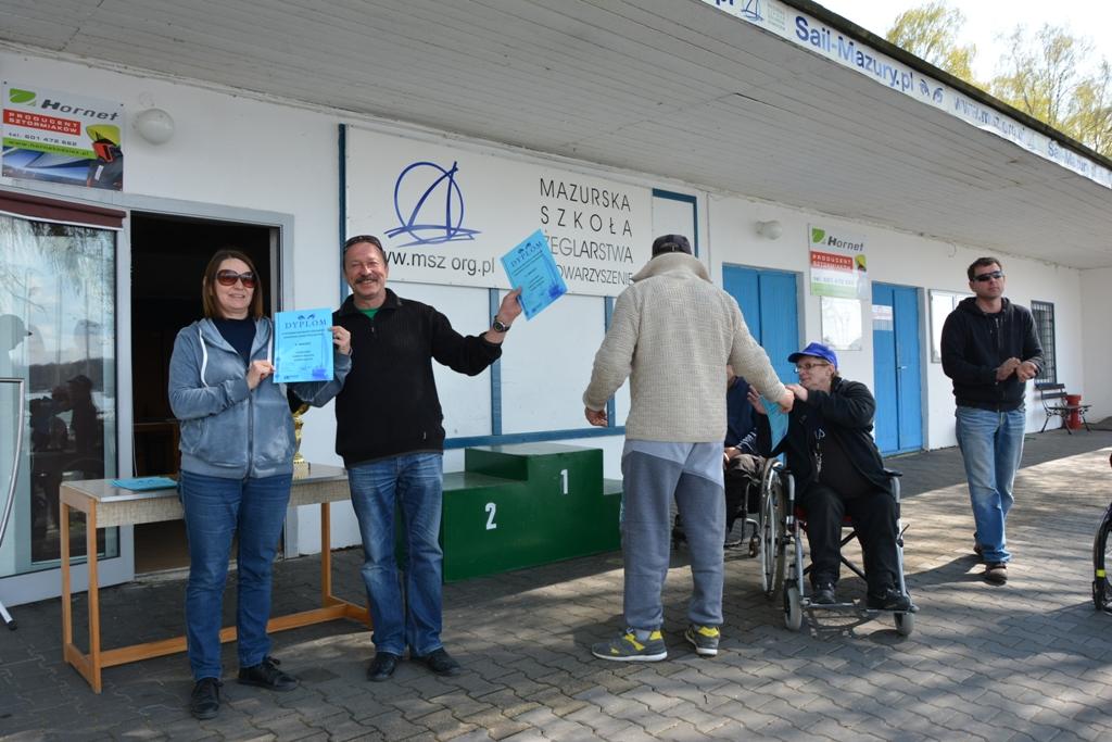 Przeglądasz zdjęcia w artykule: VIII  Integracyjne Regaty Żeglarskie  Mazurskiej Szkoły Żeglarstwa 1 – 3 maja  2016 r.