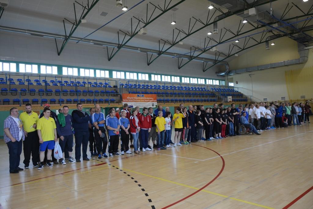Przeglądasz zdjęcia w artykule: VIII Giżycki  Indywidualno-Drużynowy Turniej Tenisa Stołowego Osób Niepełnosprawnych Połączony z Żeglowaniem  10-12 czerwca 2016 r.