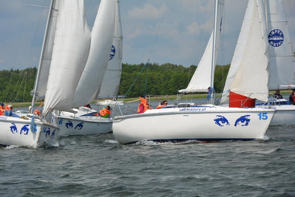 Przeglądasz zdjęcia w artykule: XIII Puchar Polski Żeglarzy Niepełnosprawnych I Edycja 17-19 czerwca 2016r.
