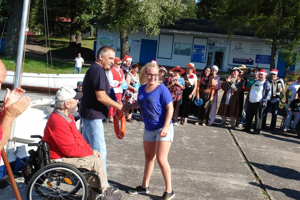 Przeglądasz zdjęcia w artykule: V Warsztaty Żeglarskie Osób Niepełnosprawnych  26.08. – 8.09.2016 r.