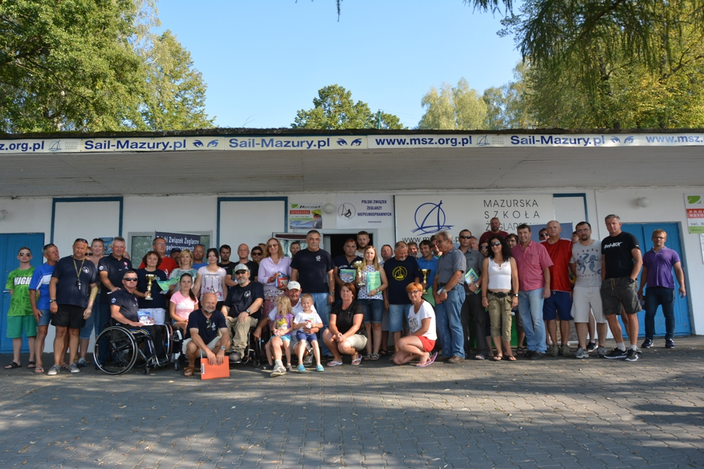 Przeglądasz zdjęcia w artykule: XIII Puchar Polski Żeglarzy Niepełnosprawnych III Edycja 9 – 11 września  2016 r.