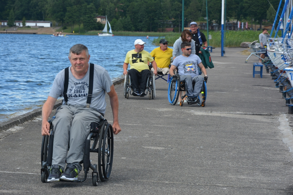 Przeglądasz zdjęcia w artykule: I Warsztaty Żeglarskie  Osób Niepełnosprawnych  27.06. – 10.07.2017 r.