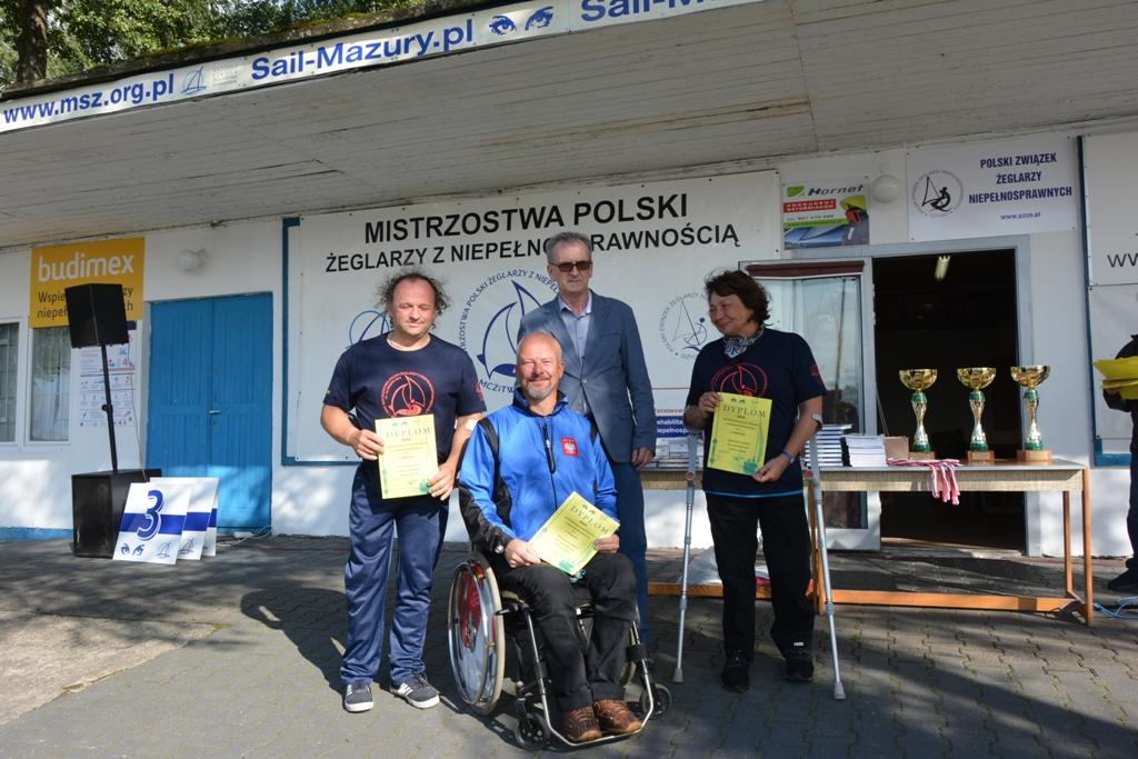Przeglądasz zdjęcia w artykule: XXIII  Mistrzostwa  Polski  Żeglarzy z Niepełnosprawnością 21 – 24 sierpnia 2017 r.