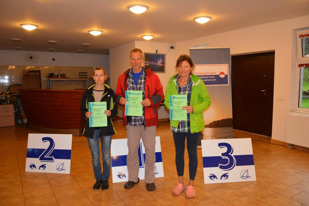 Przeglądasz zdjęcia w artykule: XIV Puchar Polski Żeglarzy Niepełnosprawnych II Edycja 31 sierpnia – 2 września  2017 r.