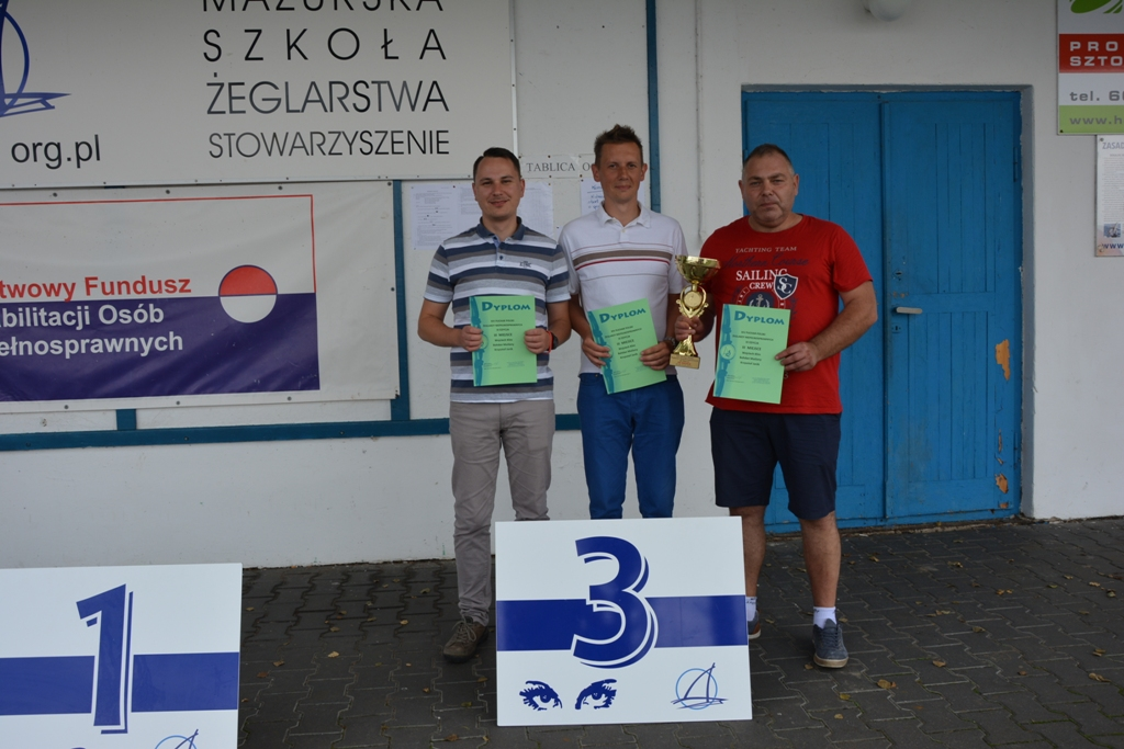 Przeglądasz zdjęcia w artykule: XIV Puchar Polski Żeglarzy Niepełnosprawnych III Edycja 8 – 10 września  2017 r.