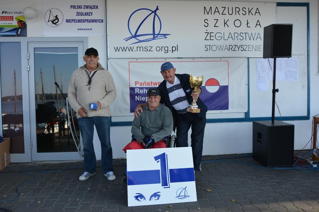 Przeglądasz zdjęcia w artykule: XIV Puchar Polski Żeglarzy Niepełnosprawnych IV Edycja 29 września – 1 października 2017 r.