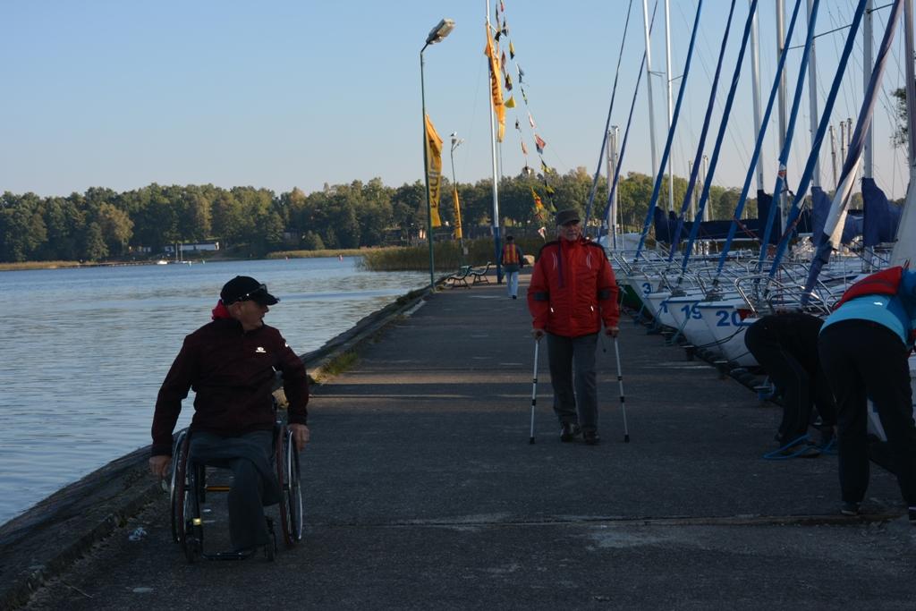 Przeglądasz zdjęcia w artykule: V Puchar Polskiego Związku Żeglarzy Niepełnosprawnych – Memoriał Izy Godlewskiej 2.10.2017 r.