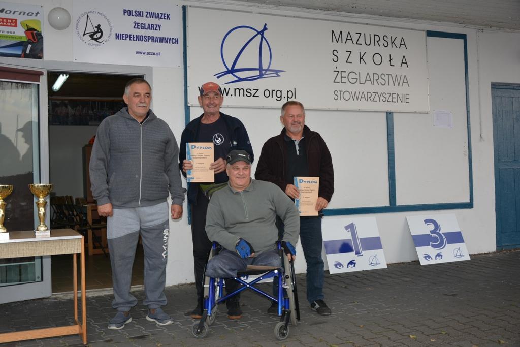 Przeglądasz zdjęcia w artykule: VI Puchar Polskiego Związku Żeglarzy Niepełnosprawnych – Memoriał Izy Godlewskiej 5 - 7.10.2018 r.