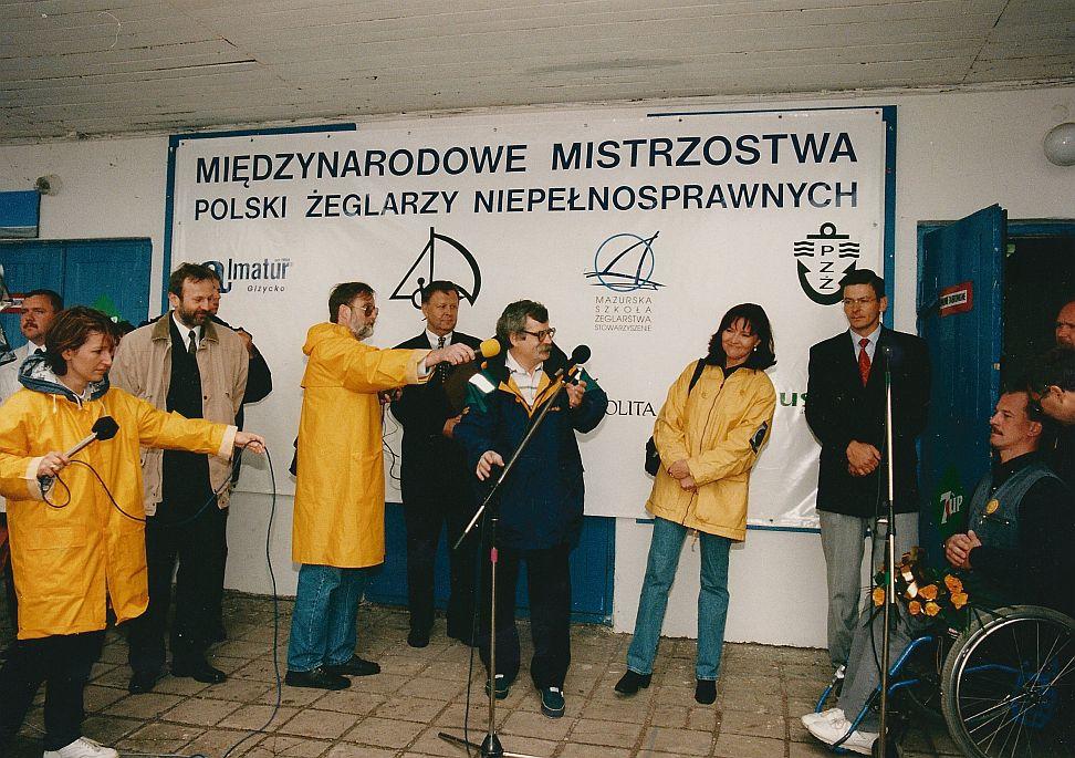 Przeglądasz zdjęcia w artykule: IV Mistrzostwa Polski Żeglarzy Niepełnosprawnych 22 - 28 czerwca 1998