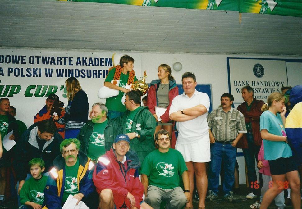 Przeglądasz zdjęcia w artykule: XV Międzynarodowe Otwarte Akademickie Mistrzostwa Polski w Windsurfingu  - 7UP CUP 14-16 sierpnia