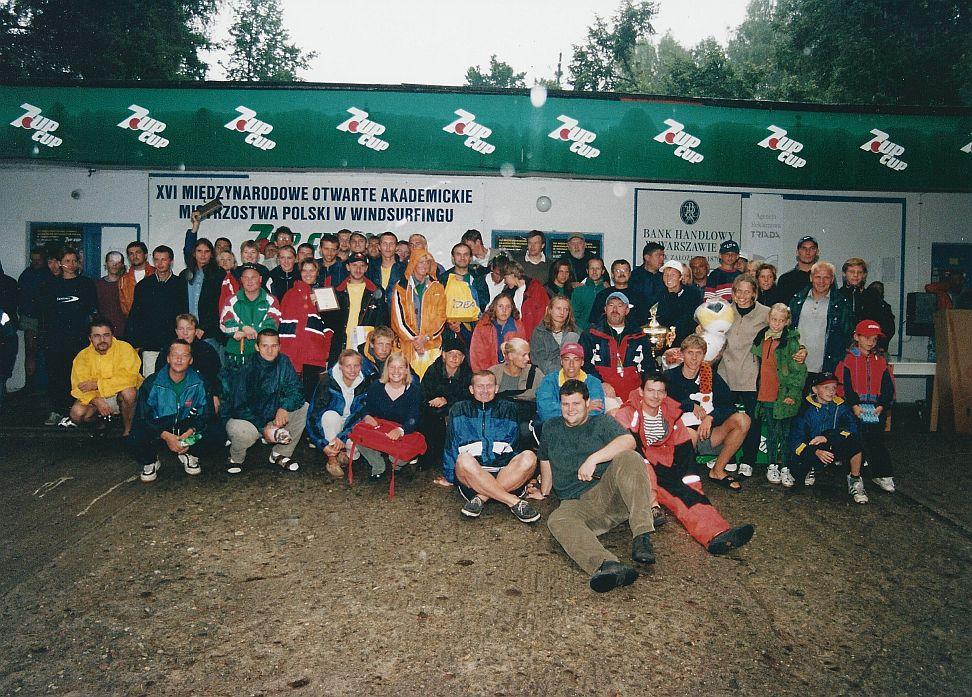 Przeglądasz zdjęcia w artykule: XVI Międzynarodowe Otwarte Akademickie Mistrzostwa Polski w Windsurfingu - 7UP CUP 13-15 sierpnia