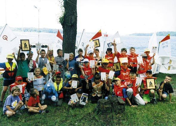 Przeglądasz zdjęcia w artykule: III Puchar Mazurskiej Szkoły Żeglarstwa  19 – 20 maja 2001