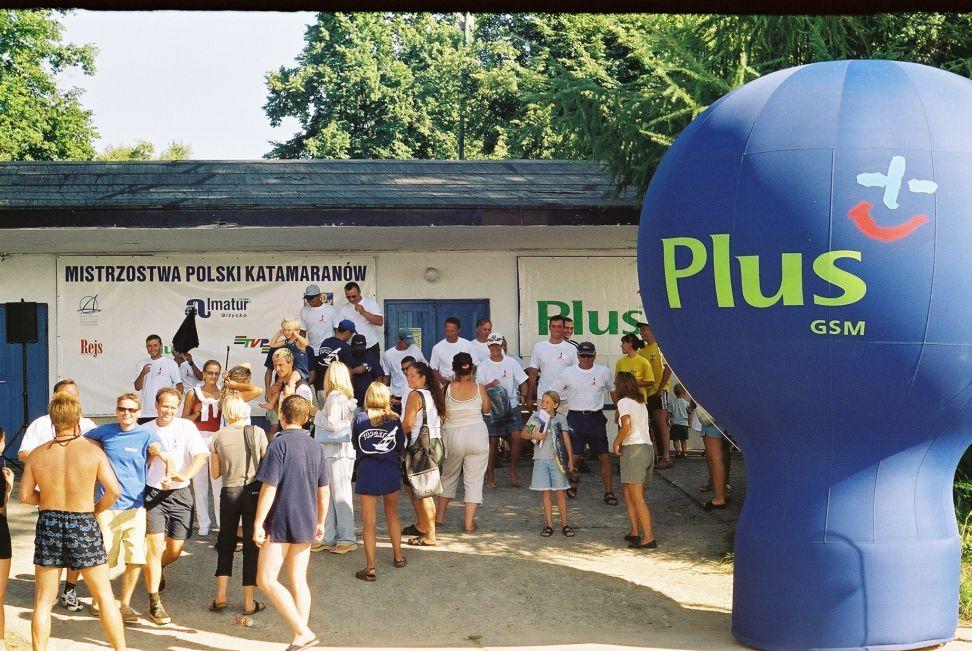 Przeglądasz zdjęcia w artykule: IV Mistrzostwa Polski Katamaranów 29-31 sierpnia 2001