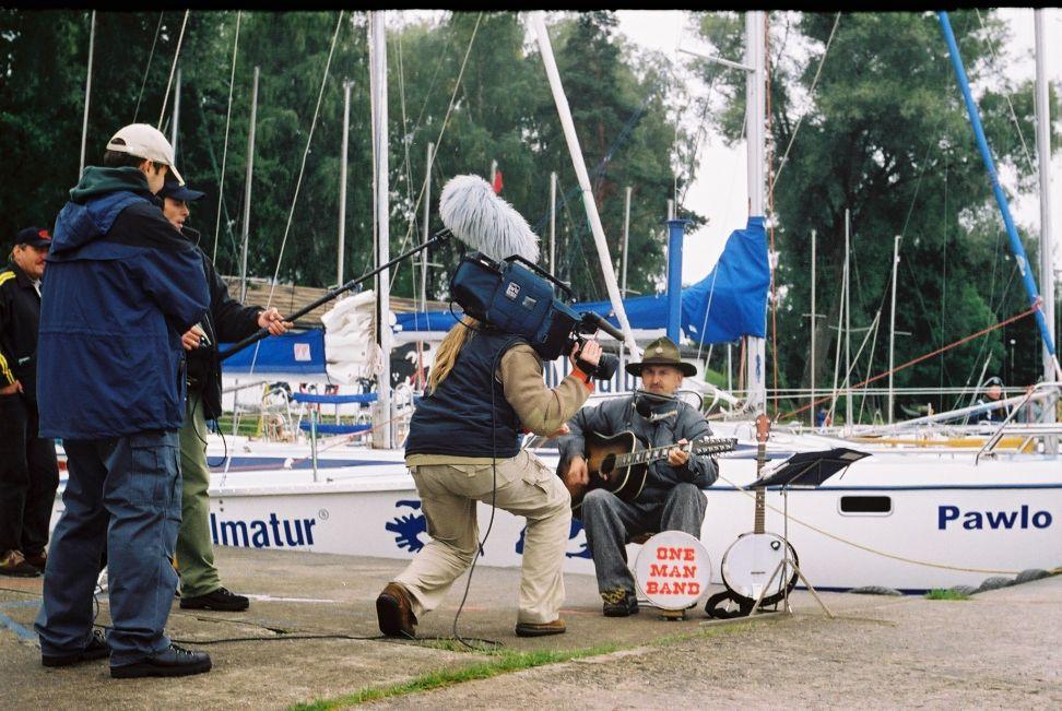 Przeglądasz zdjęcia w artykule: Żeglarski Tydzień Polonii  10 - 11 września 2001