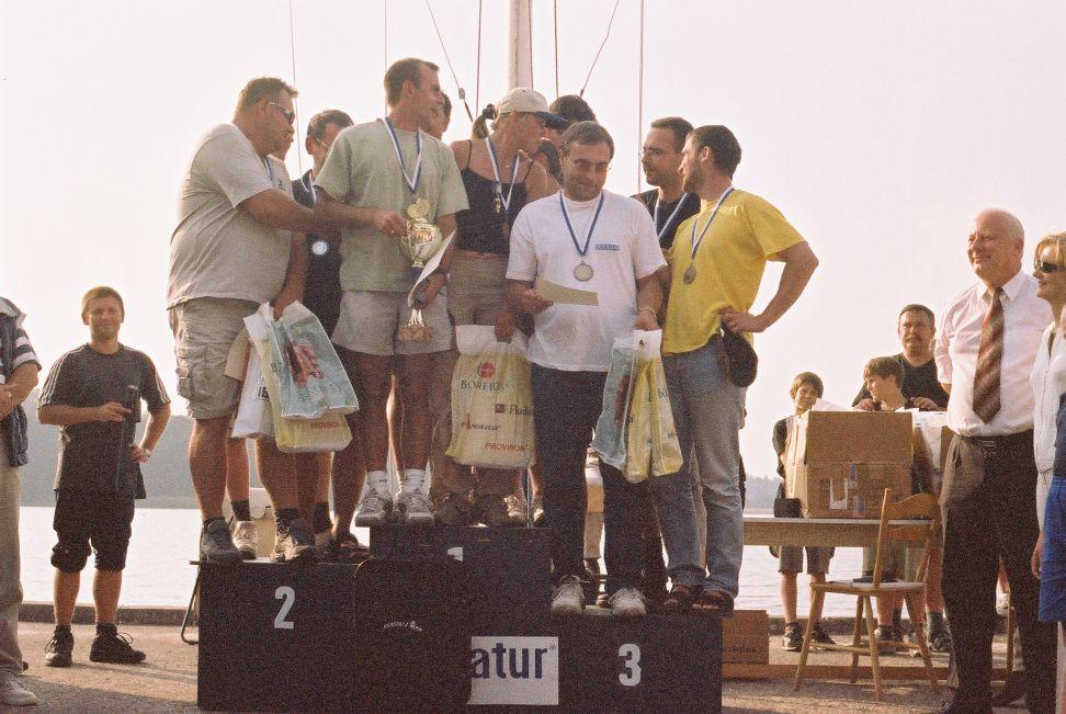 Przeglądasz zdjęcia w artykule: Mistrzostwa Lekarzy 7 - 9 września 2002