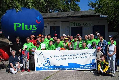 Przeglądasz zdjęcia w artykule: I Otwarte Regaty Niepełnosprawnych o Puchar Dyrektora PCPR Giżycko 29 - 30 maja 2004