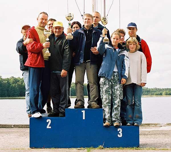 Przeglądasz zdjęcia w artykule: XXI Otwarte Akademickie Mistrzostwa Polski Jachtów Turystycznych  24 - 26 września 2004