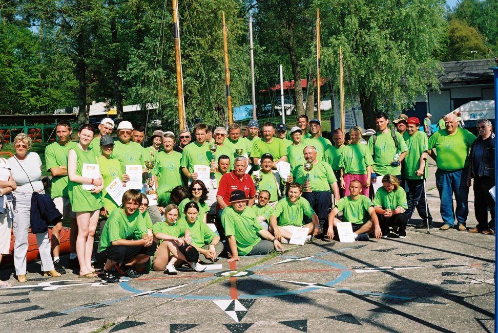 Przeglądasz zdjęcia w artykule: II Puchar Polski Żeglarzy Niepełnosprawnych  Maj Wrzesień 2005
