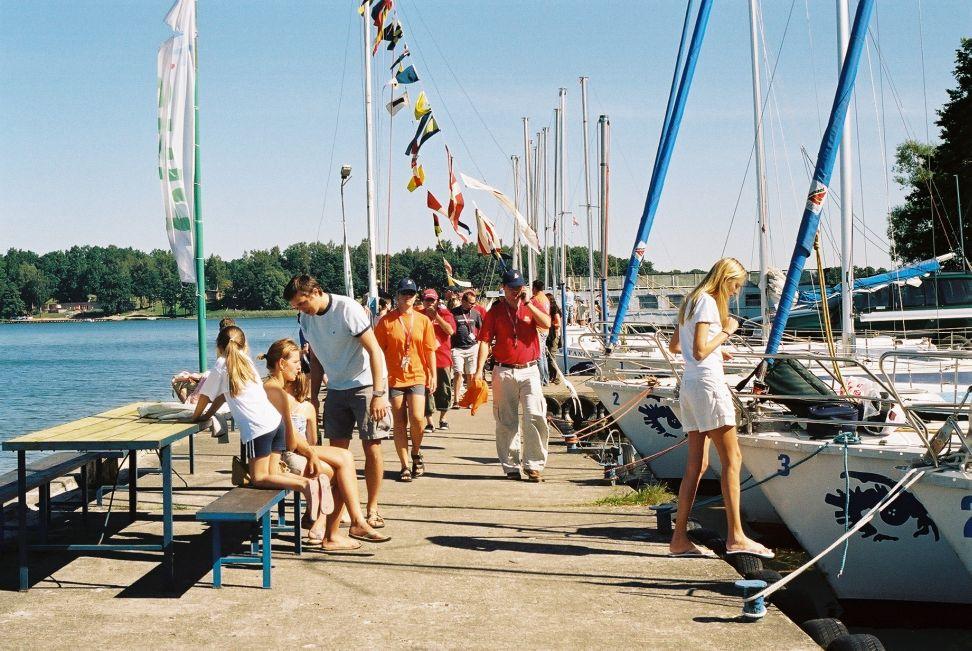 Przeglądasz zdjęcia w artykule: Farmaceutyczne Mistrzostwa Polski Farma CUP 18 - 21 sierpnia 2005