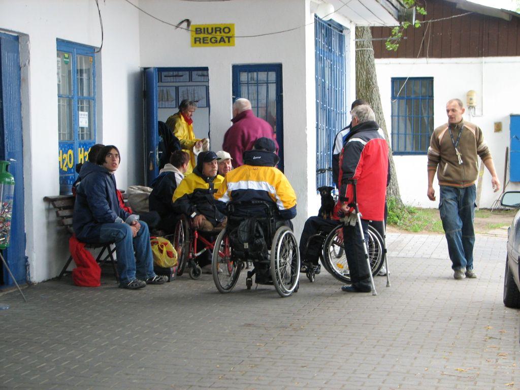 Przeglądasz zdjęcia w artykule: III Puchar Polski Żeglarzy Niepełnosprawnych  - I Edycja  26 – 28 maja 2006