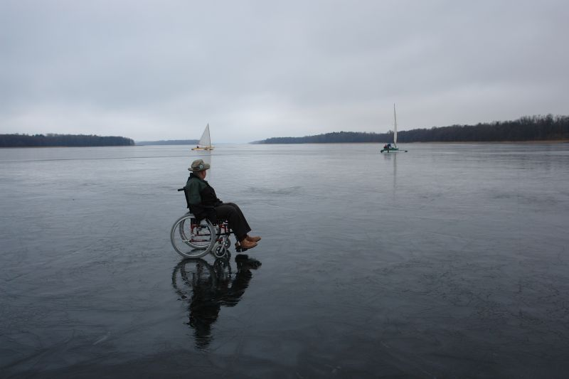 Przeglądasz zdjęcia w artykule: II Bojerowe Mistrzostwa Polski Żeglarzy Niepełnosprawnych  3 marca 2007