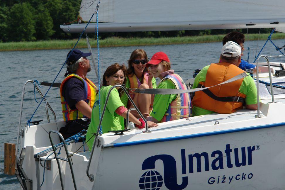 Przeglądasz zdjęcia w artykule: III Festiwal Sportów Wodnych Osób  Niepełnosprawnych  22 - 24 czerwca 2007