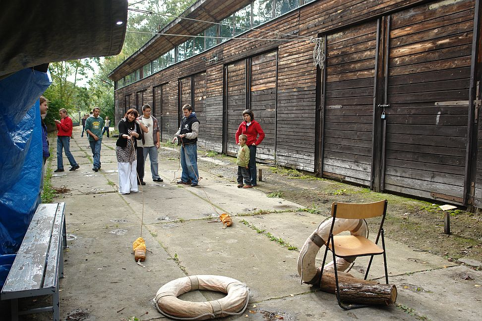 Przeglądasz zdjęcia w artykule: Nieprzetarty Rejs  10 - 14 września 2007