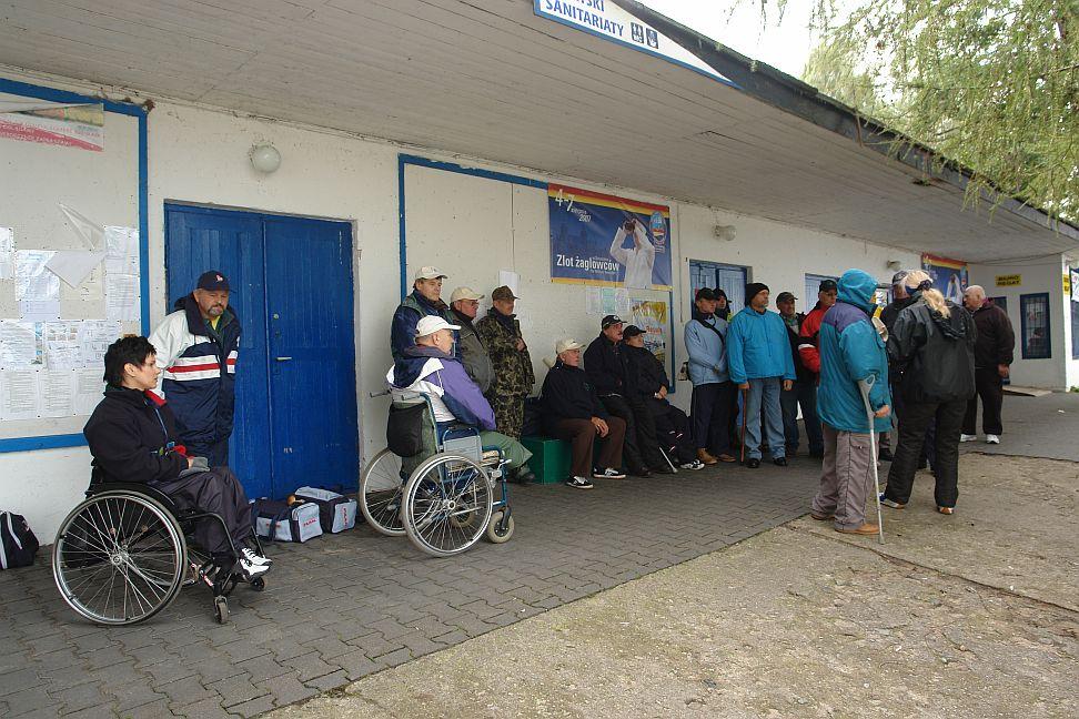 Przeglądasz zdjęcia w artykule: IV Integracyjne Regaty Osób Niepełnospr o Puchar Dyrektora Oddz. W-M PFRON 15 – 16 września 2007