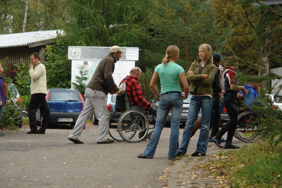 Przeglądasz zdjęcia w artykule: IV Puchar Polski Żeglarzy Niepełnosprawnych – III Edycja  21 - 23 września 2007