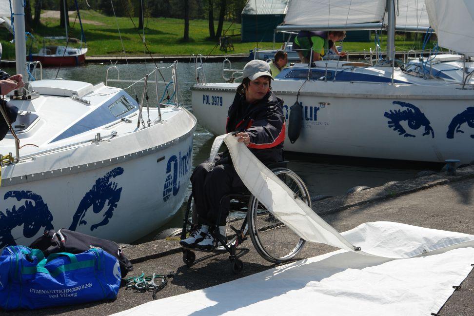Przeglądasz zdjęcia w artykule: V Otwarte Regaty Żeglarzy Niepełnosprawnych  o Puchar Dyrektora PCPR w Giżycku  3 – 4 maja 2008