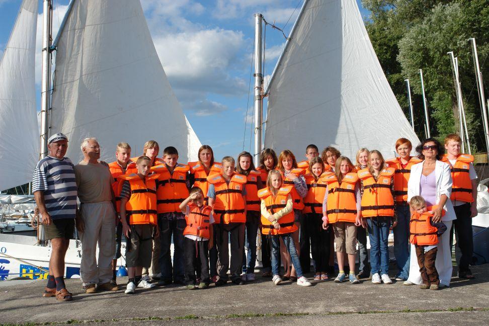 Przeglądasz zdjęcia w artykule: Wspólnota Polska - obóz integracyjny  01 - 14 sierpnia 2008