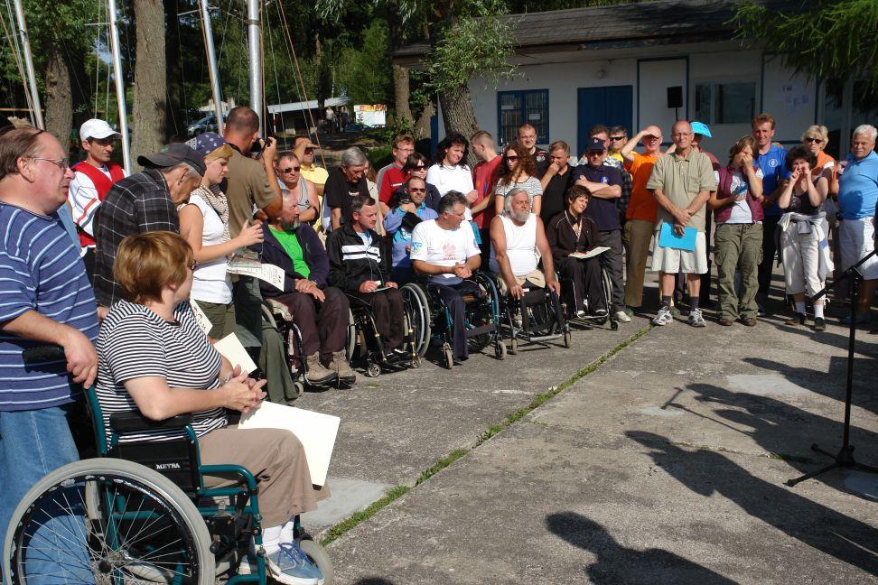 Przeglądasz zdjęcia w artykule: V Puchar Polski Żeglarzy Niepełnosprawnych – III Edycja  08 - 10 sierpnia 2008