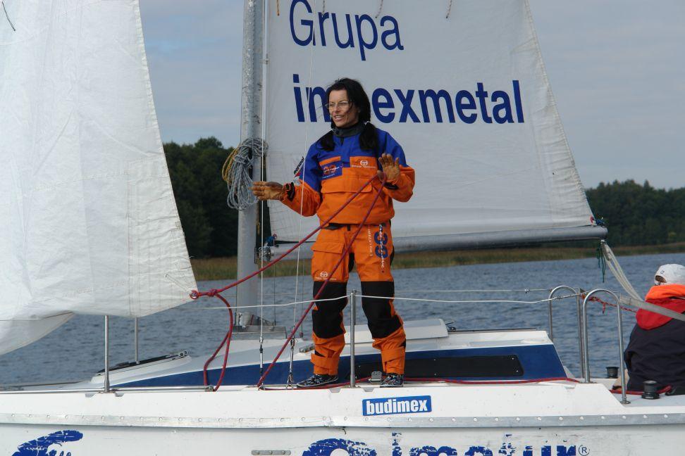 Przeglądasz zdjęcia w artykule: XVIII Żeglarskie Mistrzostwa Polski Lekarzy  12 - 14 września 2008