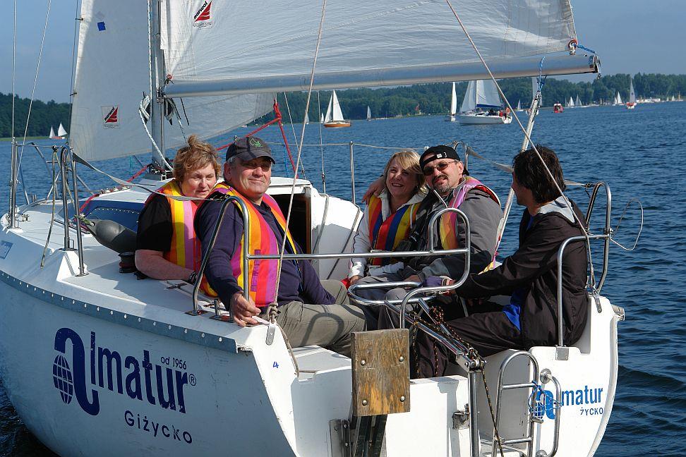 Przeglądasz zdjęcia w artykule: V Festiwal Sportów Wodnych Osób  Niepełnosprawnych 26 - 28 czerwca 2009