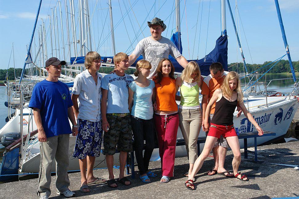 Przeglądasz zdjęcia w artykule: Międzynarodowy Kurs Żeglarski - Litwa, Białoruś, Łotwa 6 – 19 lipca 2009