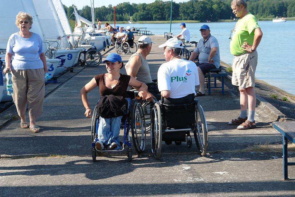 Przeglądasz zdjęcia w artykule: VI Puchar Polski Żeglarzy Niepełnosprawnych – III Edycja 07 - 09 sierpnia 2009