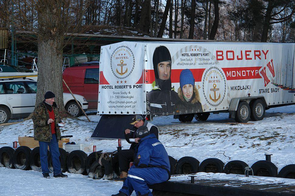 Przeglądasz zdjęcia w artykule: IV Otwarte Bojerowe Mistrzostwa Polski Żeglarzy Niepełnosprawnych 6 marzec 2010
