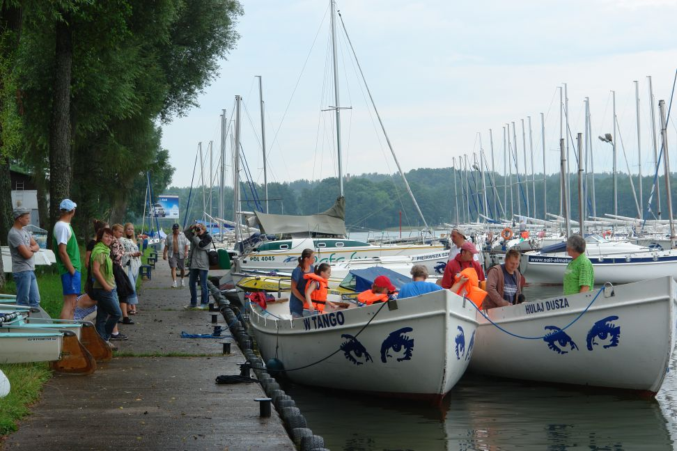 Przeglądasz zdjęcia w artykule: Międzynarodowy Kurs Żeglarski - Litwa, Białoruś, Łotwa sierpień 2010