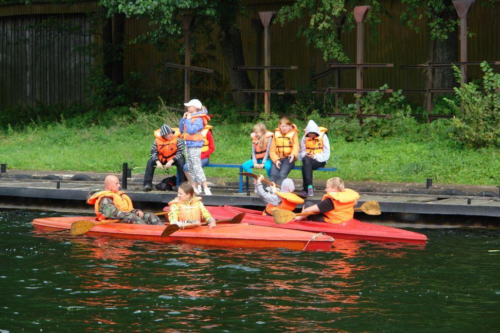 """Przeglądasz zdjęcia w artykule: Obóz żeglarski """"Przystań"""" 23 - 29 sierpnia 2010"""