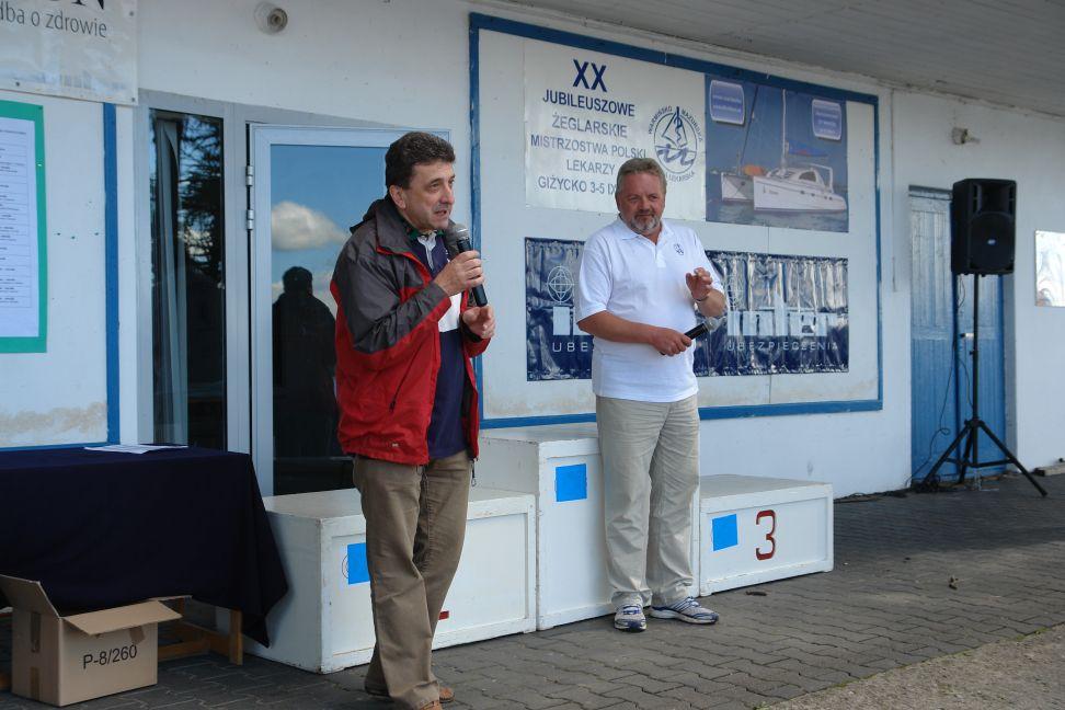 Przeglądasz zdjęcia w artykule: XX Żeglarskie Mistrzostwa Polski Lekarzy 02 - 05 września 2010