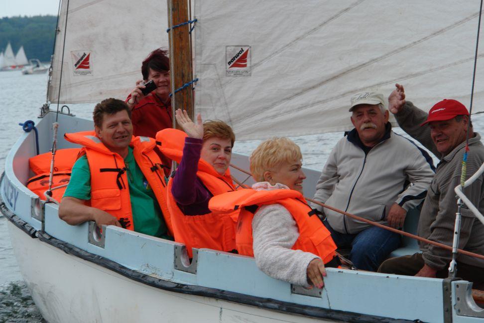 Przeglądasz zdjęcia w artykule: I Warsztaty Żeglarskie dla Osób Niepełnosprawnych 04 - 17 czerwca 2012