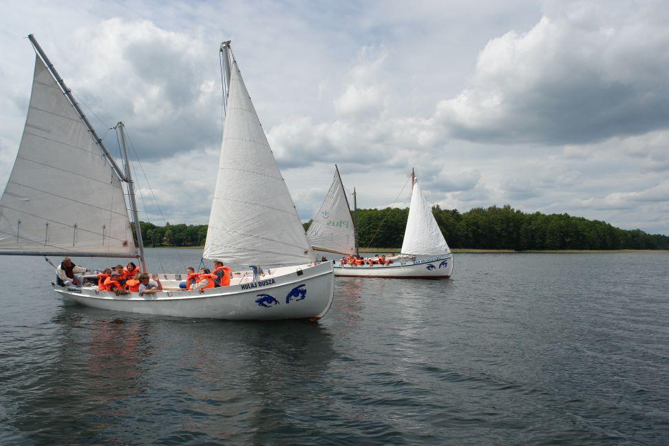 Przeglądasz zdjęcia w artykule: I Regaty Giżyckiego Koła PSOUU 4 czerwca 2012