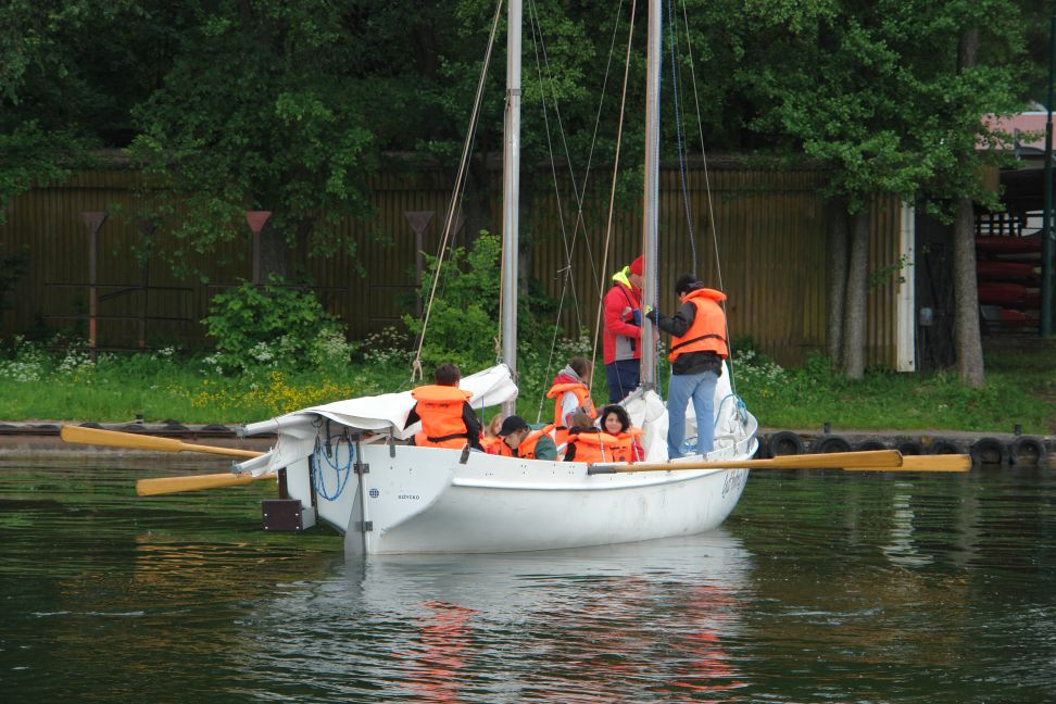 Przeglądasz zdjęcia w artykule: Obóz żeglarski ZHP Milanówek 06 - 10 czerwca 2012