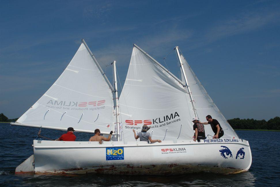 Przeglądasz zdjęcia w artykule: I Regaty SPS KLIMA 1 lipca 2012