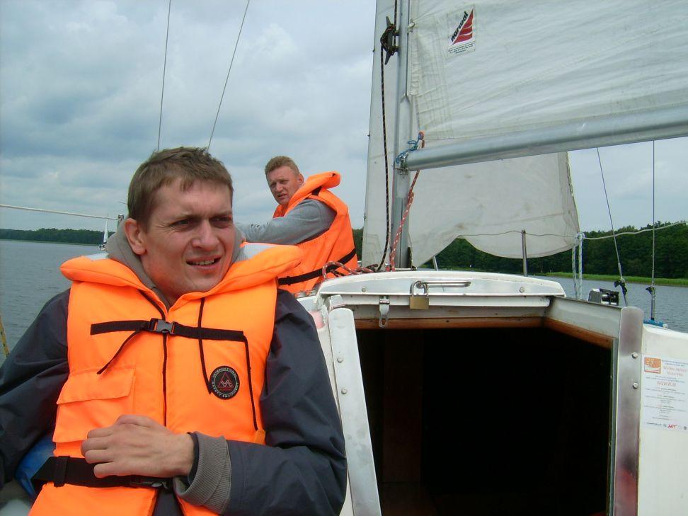 Przeglądasz zdjęcia w artykule: Obóz żeglarski Podkarpackiego Stowarzyszenia Aktywnej Rehabilitacji 15 - 22 lipca 2012