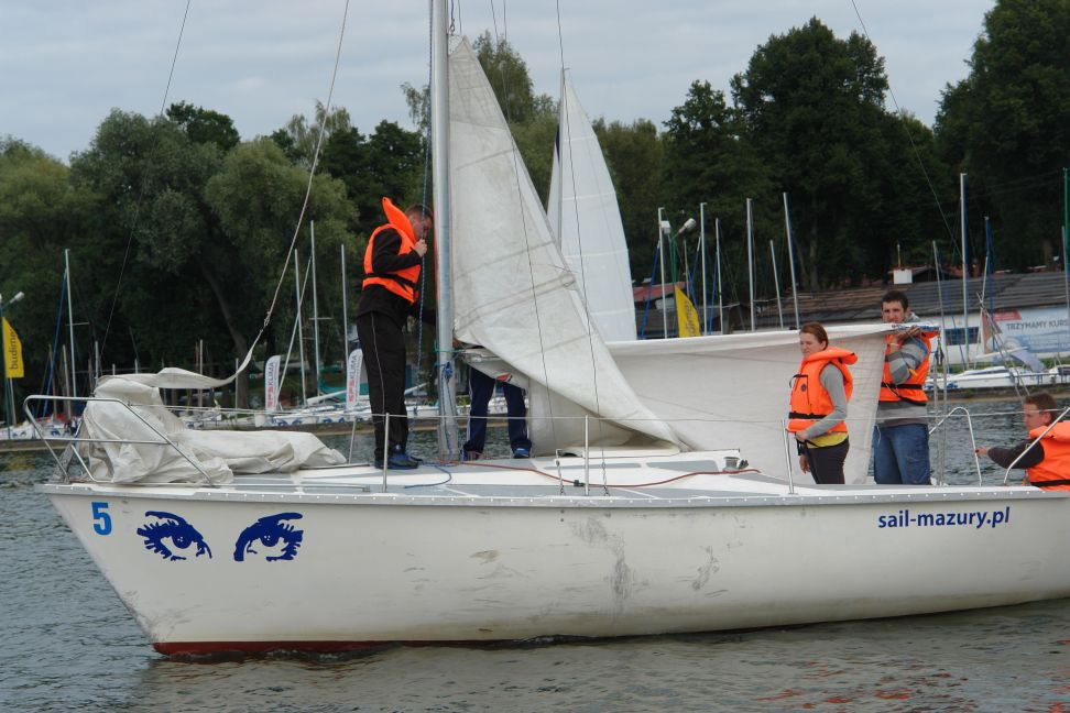 """Przeglądasz zdjęcia w artykule: I Kurs żeglarski dla osób niesłyszących """"ARKADIA""""   6.08 – 19.08.2012"""