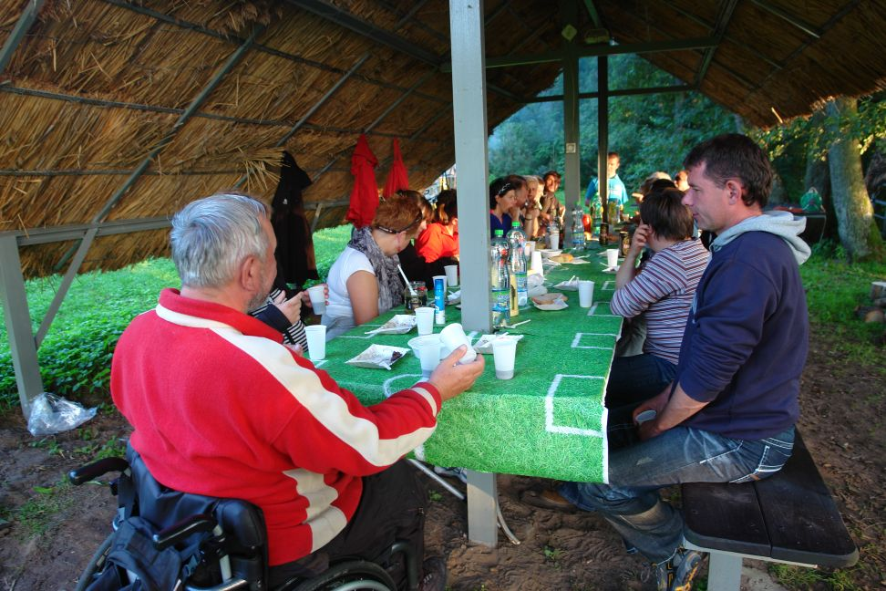 Przeglądasz zdjęcia w artykule: II Kurs żeglarski dla osób niepełnosprawnych  6.08 – 19.08.2012