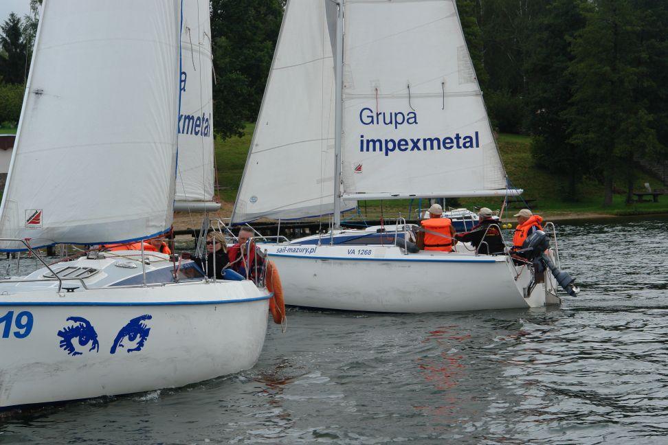 """Przeglądasz zdjęcia w artykule: """"Żagle bez barier"""" - warsztaty żeglarskie dla osób niepełnosprawnych 50+ 6.08 – 19.08.2012"""