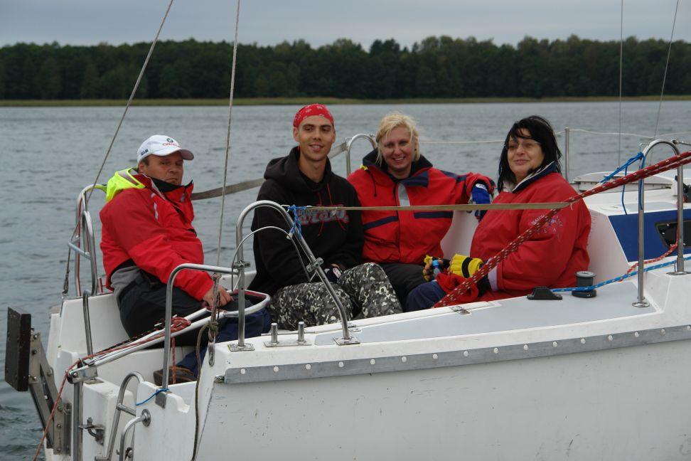 Przeglądasz zdjęcia w artykule: XXII Żeglarskie Mistrzostwa Polski Lekarzy 06 - 09 września 2012