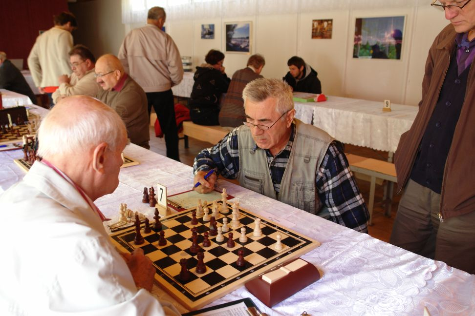 Przeglądasz zdjęcia w artykule: Mistrzostwa Polskiego Związku Olimpijskiego Głuchych w Szachach 12 – 15 września 2012